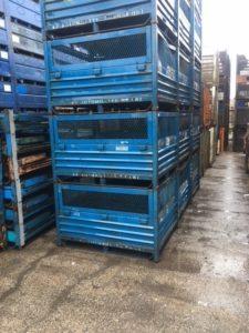 Steel-Solid-Mesh-Bins-54x44x40-oh-Item-723
